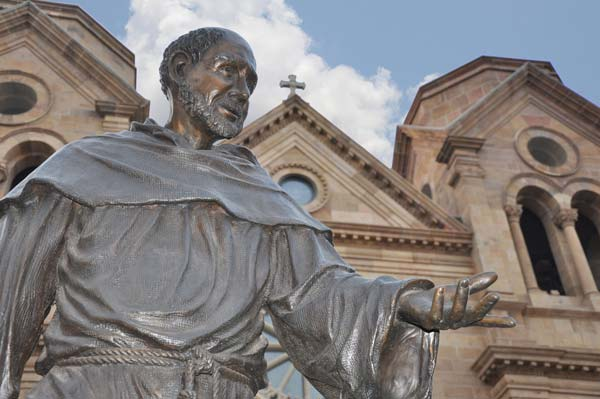 St. Francis of Assisi is honored throughout the city as the patron saint.