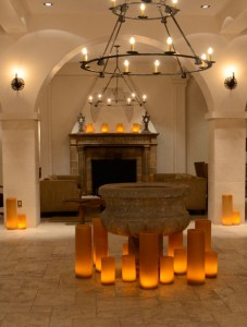 The lobby at the Hotel St. Francis
