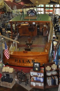 Pilar, the sister ship to Hemingway's boat • Photo by Mary Ann DeSantis
