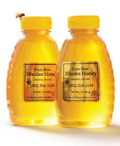 PURE RAW RHODES HONEY | Photo by John Jernigan