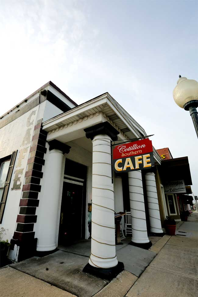 The Cotillion Southern Cafe in the former Bank of Wildwood was one of the first businesses to draw from the town's history and others are following.