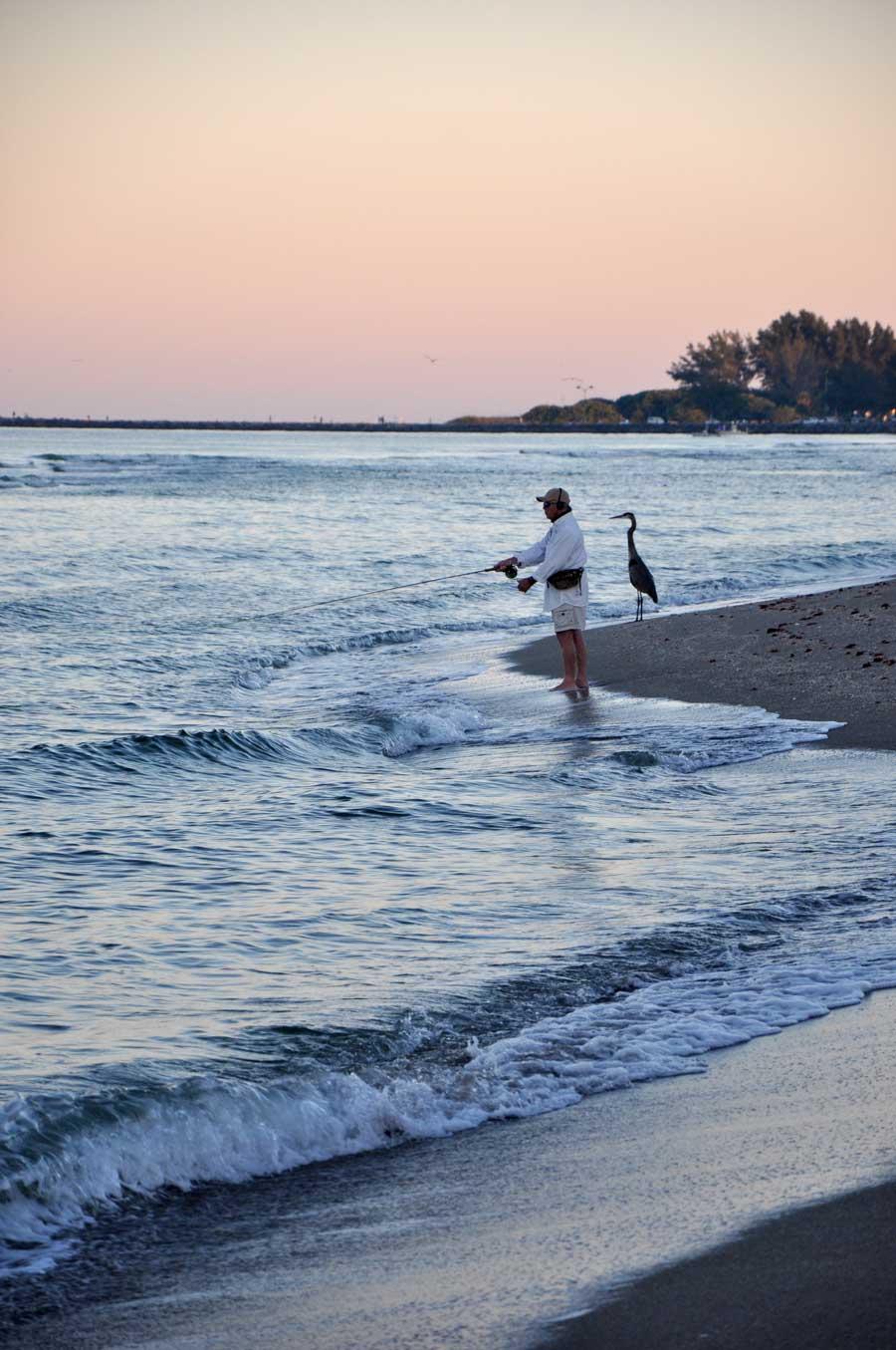 Fishermen in Venice Florida
