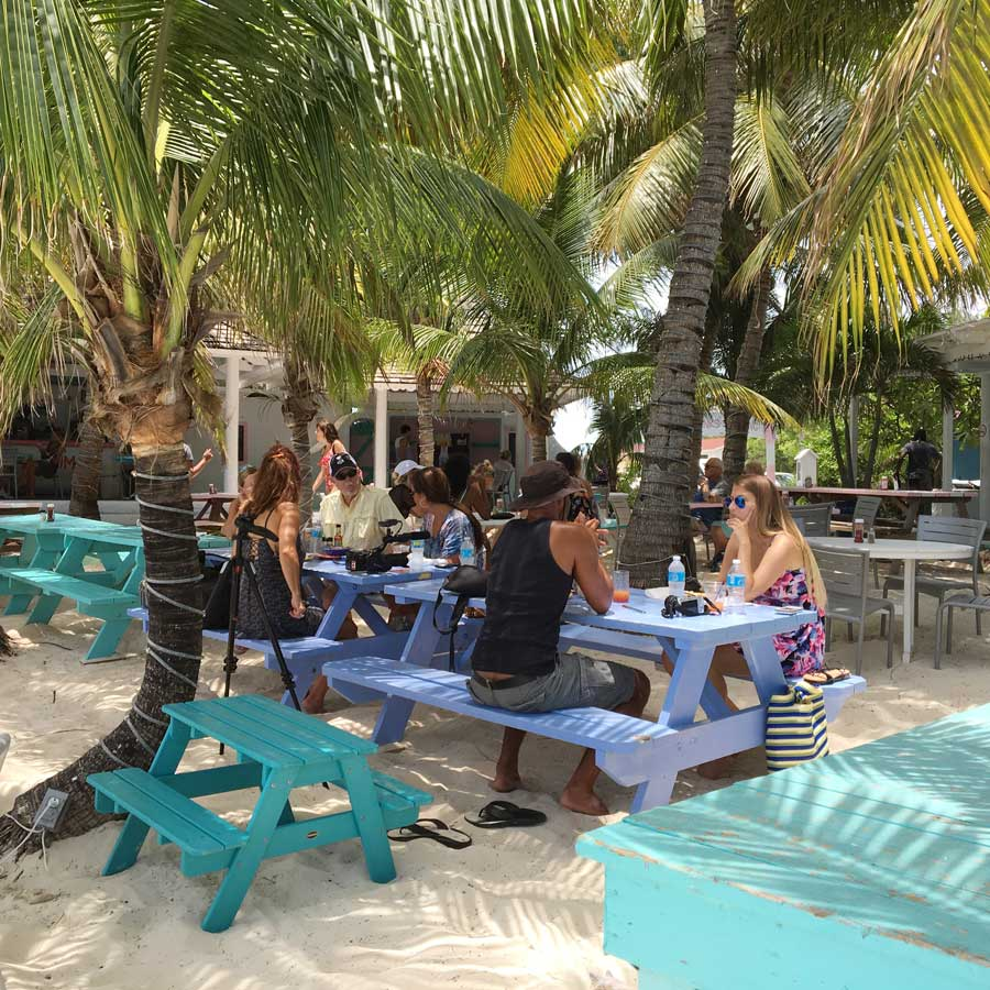 Da-Conch-Shack--An-Outdoor-Cafe-On-The-Beach-Side-Of-Blue-Hills-Road