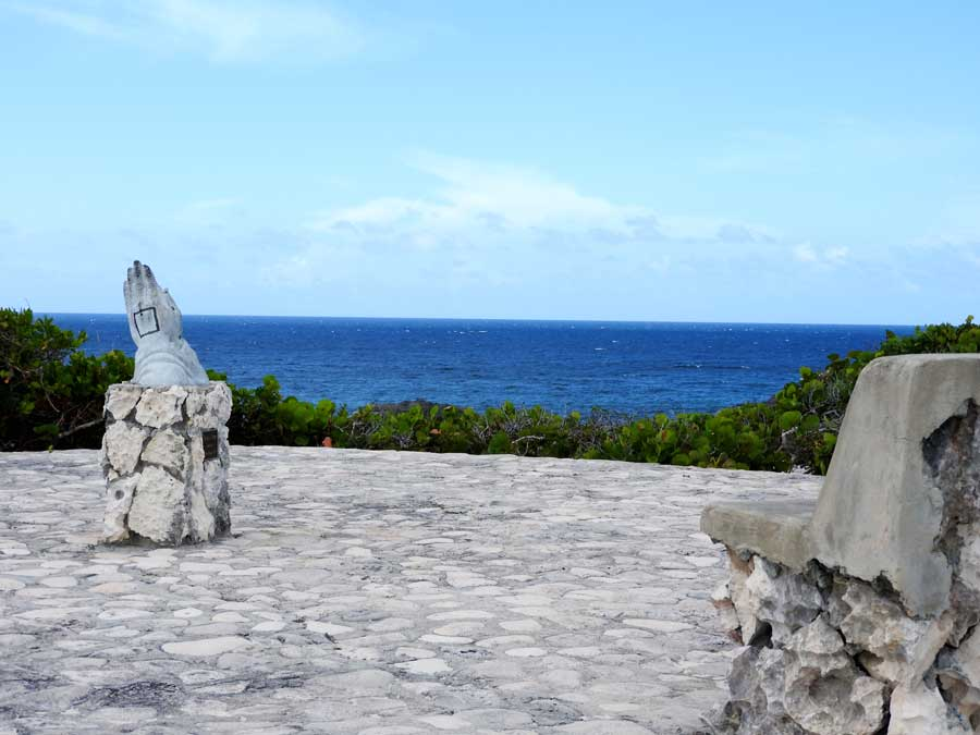 The Praying Hands at Middle Caicos