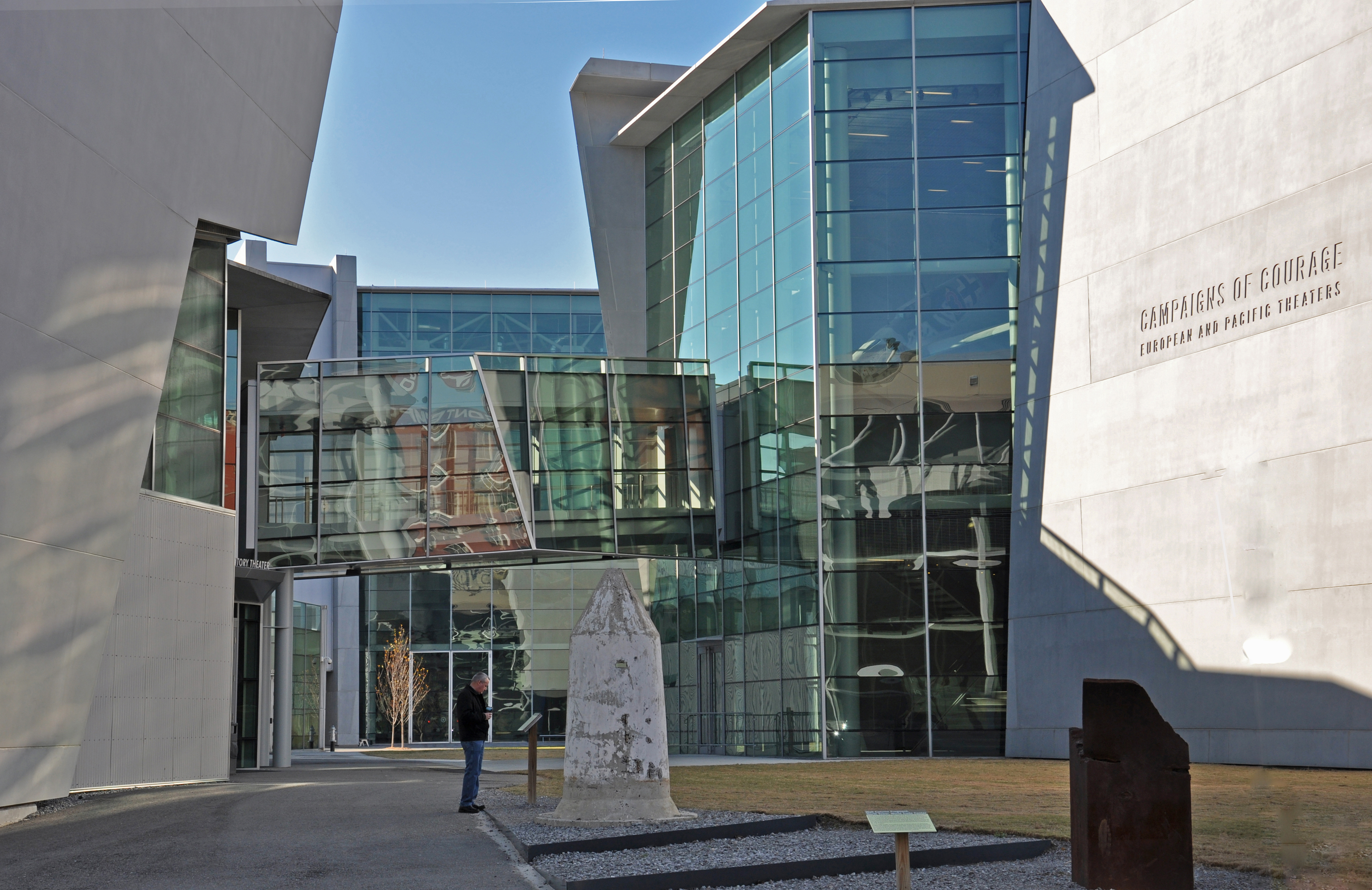 The Campaigns of Courage Pavilion is the heart of the National WWII Museum