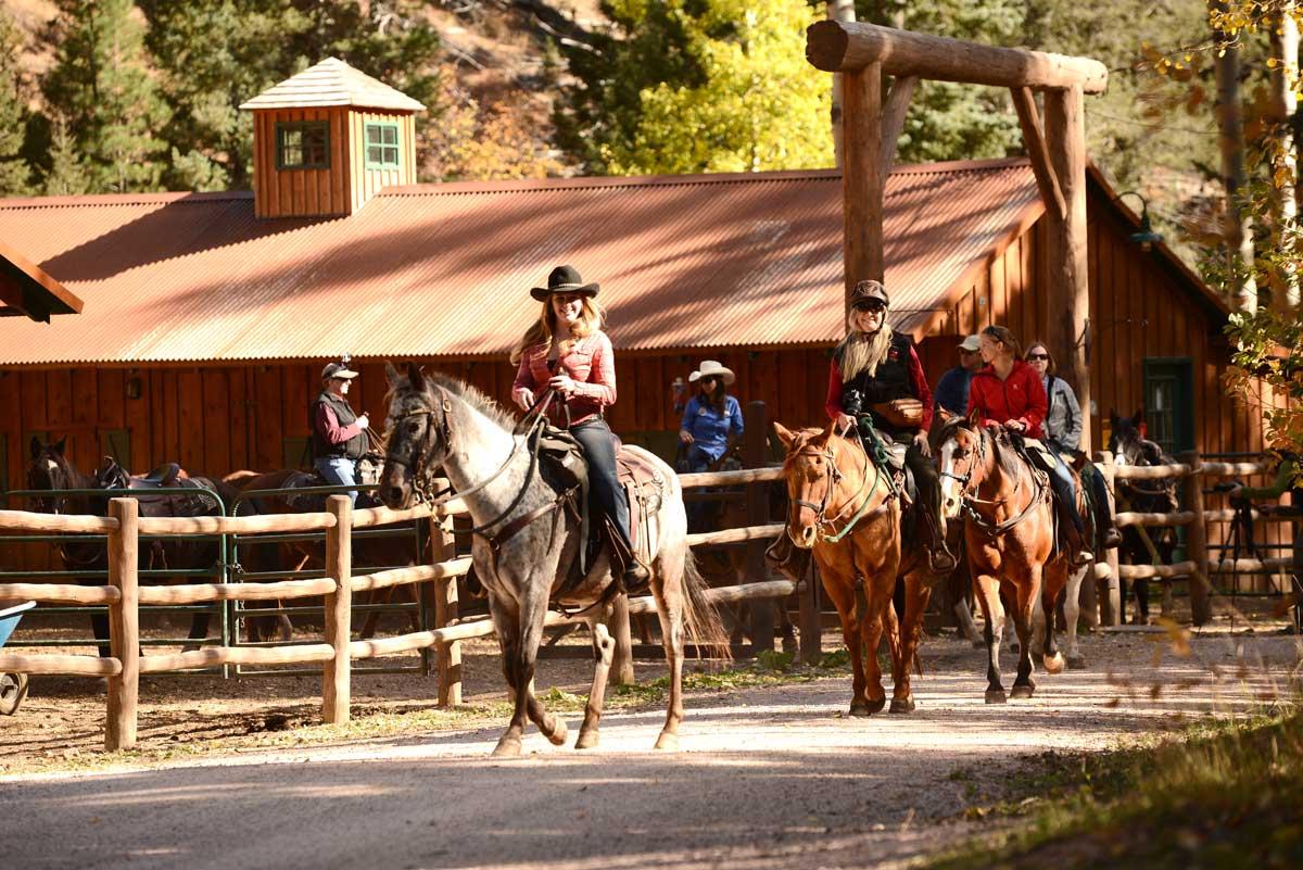 Horseback Riding at Emerald Valley, courtesy of the Broadmoor