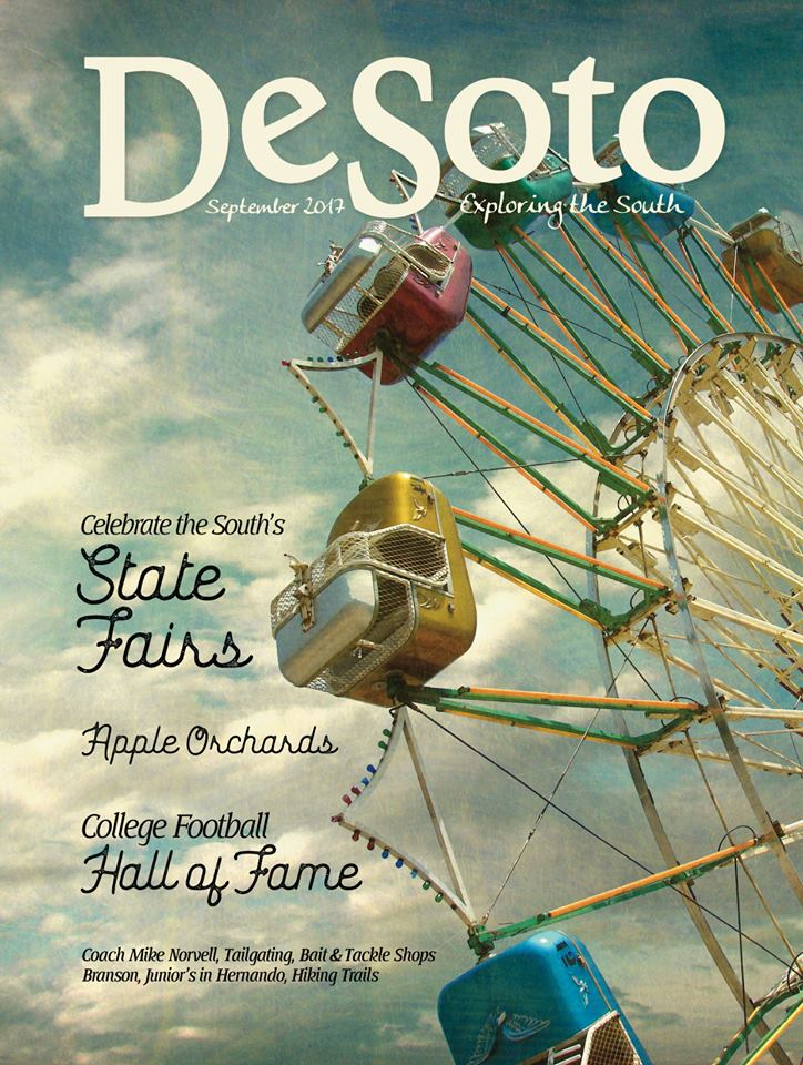 Mary Ann is the Editor-at-Large for <em>DeSoto: Exploring the South</em> magazine. Read the latest issue here.