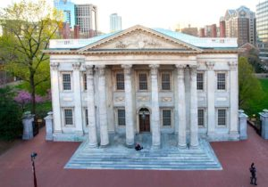 First Bank of the United States, founded by Hamilton