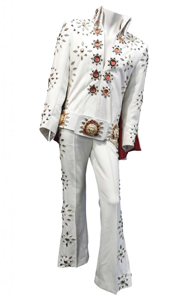 One of Elvis' many jumpsuits