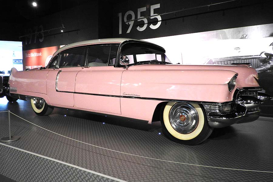 The pink  Cadillac that Elvis loved