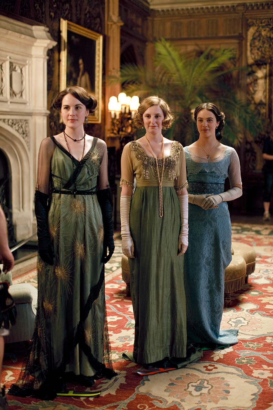 Dressing Downton: Changing Fashion for Changing Times, Through Jan. 7, Lightner Museum, St. Augustine