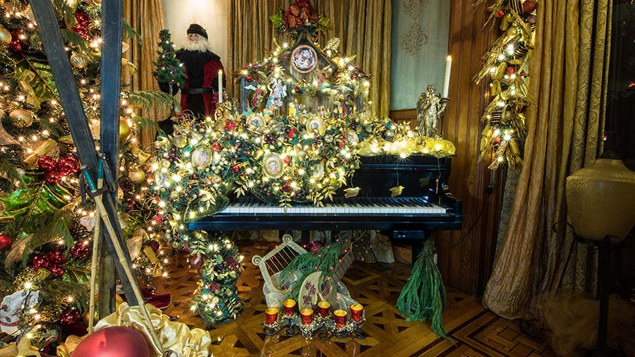 Christmas Spectacular! Holiday Home Tour —through Jan. 15 at Stetson Mansion, Deland