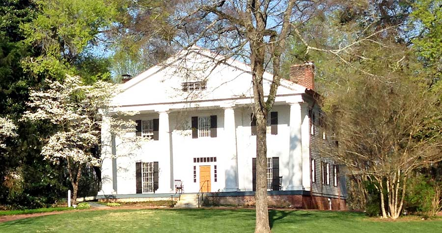 Bulloch Hall, where Mittie Bulloch, the mother of President Teddy Roosevelt, grew up.