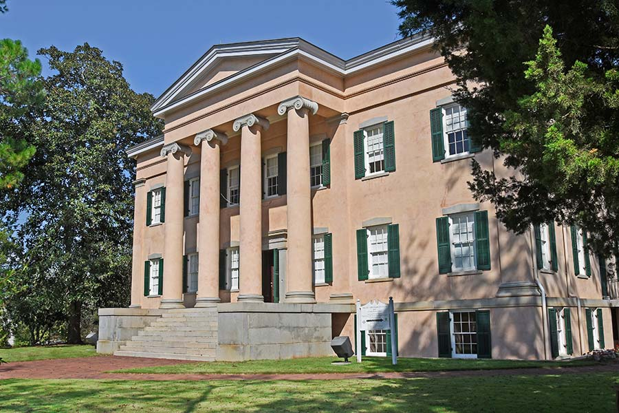 Milledgeville, Georgia, is home to the Old Governor's Mansion. Photo by Tony DeSantis
